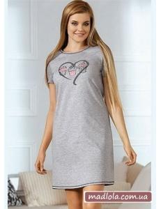 Ночная сорочка с коротким рукавом Babella 3052-1