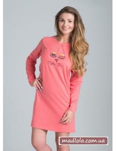 Ночная сорочка с длинным рукавом Rossli SAL-ND-006